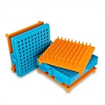 Capsule Filler Kit Fill 100 Capsules (100-orange/blue) At A Time